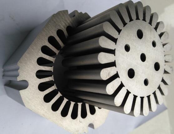 中走丝在电机铁芯模具行业应用